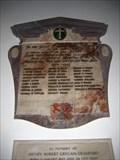 Image for Aldbury WW1 Memorial Plaque