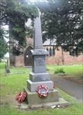 Image for East Cowick War Memorial - East Cowick, UK