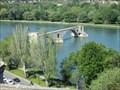 Image for Pont Saint-Bénézet(Pont d'Avignon) - Sur le pont d'Avignon - Avignon/France