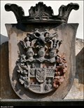 Image for CoA of Morzins on Church of St. Giles / Erb Morzinu na Kostel Sv. Jiljí - Krinec (Central Bohemia)