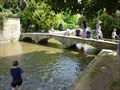 Image for Coronation bridge - 1953 - River Windrush, Bourton on the Water, Gloucestershire, England
