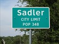 Image for Sadler, TX - Population 348