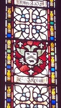 Image for Godolphin Coat of Arms - St Mabyn's church - St Mabyn, Cornwall