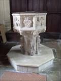 Image for Font - St Mary's Church, Helmingham Road (B1077), Helmingham, Suffolk, IP14 6EQ