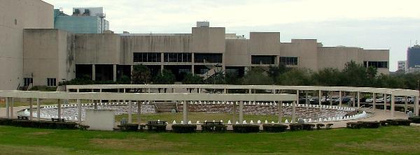 The Watergarden Pavilion Plaza In Corpus Christi