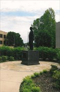 Image for Ponca City dedicates statue of oilman, philanthropist - Oklahoma