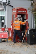 Image for Red Telephone Box - Bailgate, Lincoln, UK