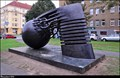 Image for The Electrical Discharge - Nikola Tesla Monument (Nikola Tesla Street, Prague)