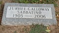 Image for 103 - Jurhee Galloway Sabbatino - Fairlawn Cemetery - OKC, OK
