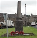 Image for Combined World War I And World War II Memorial – Over Kellet, UK