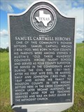 Image for Homesite of Samuel Cartmill Hiroms