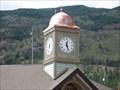 Image for Village Office Clock, Lytton, British Columbia