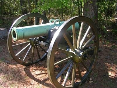 24 Pounder Howitzer Cannon ~ Chickamauga Georgia - Static