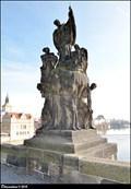 Image for St. Francis Xavier sculptural group on Charles Bridge  / Sousoší Sv. Františka Xaverského na Karlove moste (Prague)