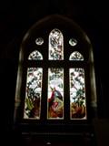 Image for Das Buntglasfenster im Nibelungenzimmer - Schloss Drachenburg - Königswinter - NRW - Germany