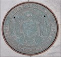 Image for Great Seal of the State of Idaho Manhole Cover~ Boise ID.
