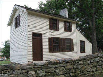 The Innis House sits on Sunken Road at Marye`s Heights on the Fredericksburg Battlefield.