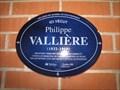 Image for La plaque bleue de Philippe Vallière-Québec,Canada