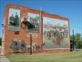 Image for Land Run Mural - Davenport, OK