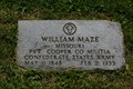 Image for William Maze CSA - St. James Mo Veterans Home Cemetery