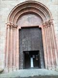 Image for Door of Catedral de Nuestra Señora de los Remedios Igrexa Catedral - Mondoñedo, Lugo, Galicia, España