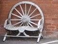 Image for Wagon Wheel Benches - Moddershall, Staffordshire, UK.