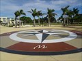 Image for Gilchrist Park Compass Rose - Punta Gorda, Florida, USA