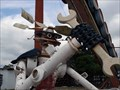 Image for Robot Auto Part Sculptures @ EL&M Auto Recycling - Hammonton, NJ