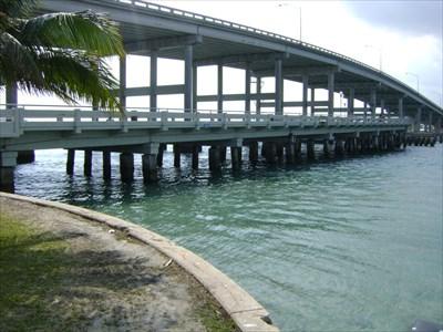 Bridge in the background