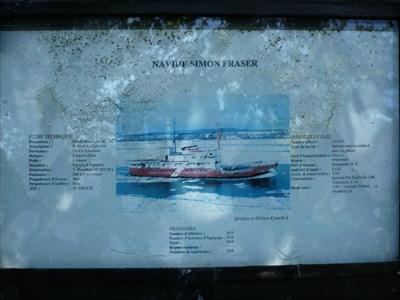 detailed description of the original ship
