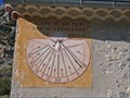 Image for Tournesol Sundial on Ste Colombe Chapel, France
