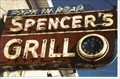 Image for Spencer's Grill Clock - Kirkwood, MO