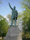 Image for Lincoln Statue in Rosamond Cemetery, Christian, County, Illinois.