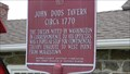 Image for John Dods Tavern - Historical Marker - Lincoln Park, NJ
