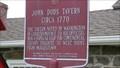 Image for John Dods Tavern - Historical Marker - Lincoln Park, NJ