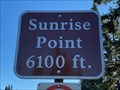 Image for Sunrise Point - Sunrise WA - 6100'