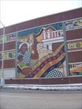 Image for Patterns of Detroit - Parking Garage Mural - Detroit, Michigan