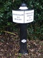 Image for Trent and Mersey Canal Milepost - Rode Heath, Cheshire.