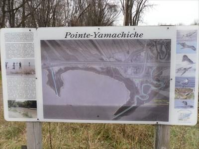 Carte de la Pointe-Yamachiche a l