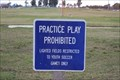 Image for No Practice Play -- Texas City TX