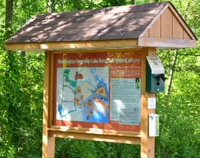 Washington Township Penninsula Park - Park Map