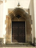 Image for Doorway at Roman Catholic Church St. Martin Flerzheim - NRW / Germany