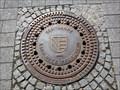 Image for 'Kanalnetz' Manhole Cover - Pforzheim, Germany, BW