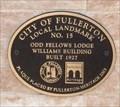 Image for Odd Fellows Lodge - Fullerton, CA