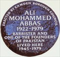 Image for Ali Mohammed Abbas - Tavistock Square, London, UK