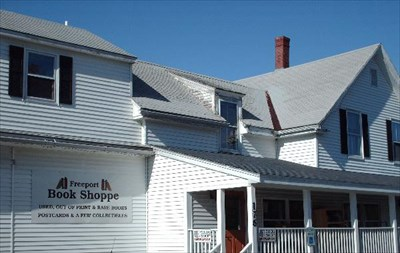 Freeport Book Shoppe Freeport ME Used Book Stores On - Map 176 us route 1 freeport maine 04032