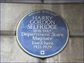 Image for Harry Gordon Selfridge - Fitzmaurice Place, London, UK