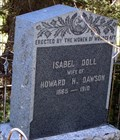 Image for Isabel Doll Dawson - Rico Cemetery - Rico, CO