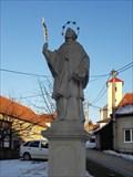 Image for Socha sv. Jana Nepomuckého - Nížkovice, Czech Republic