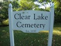 Image for Clear Lake Cemetery - Chaffey's Locks, ON